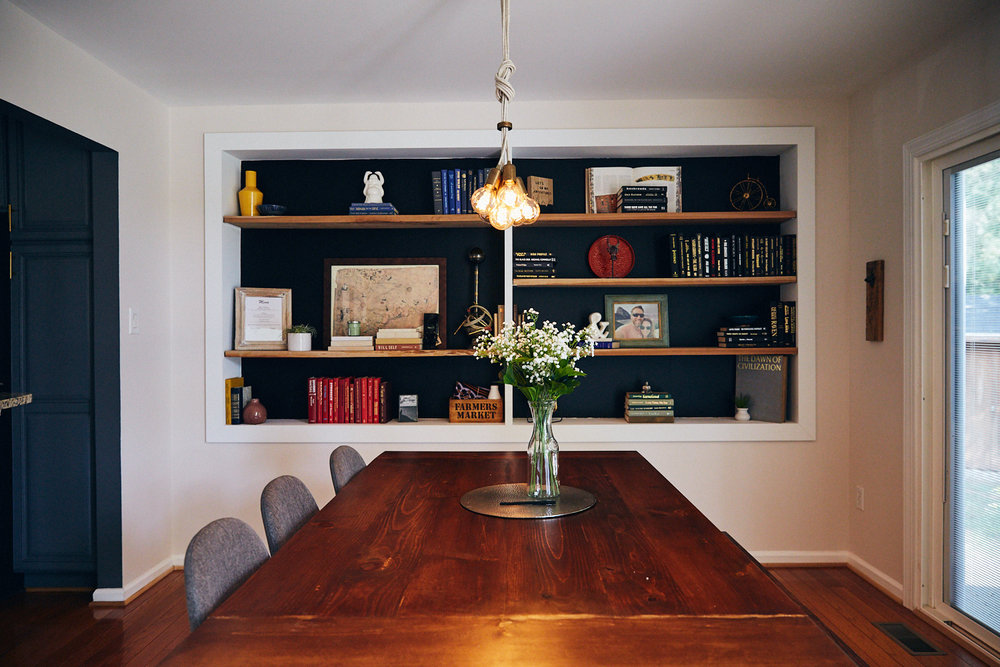 Holiday meal - remove pendant light