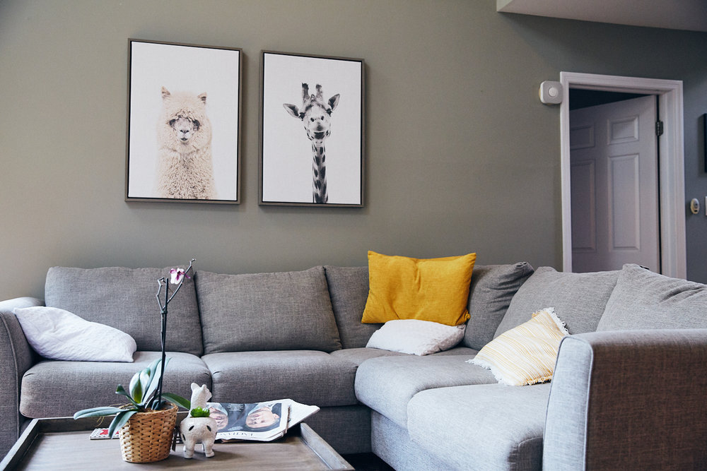Gift giving - remove or replace wall art?