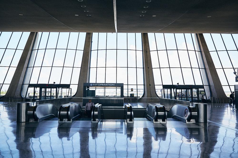 Central terminal area