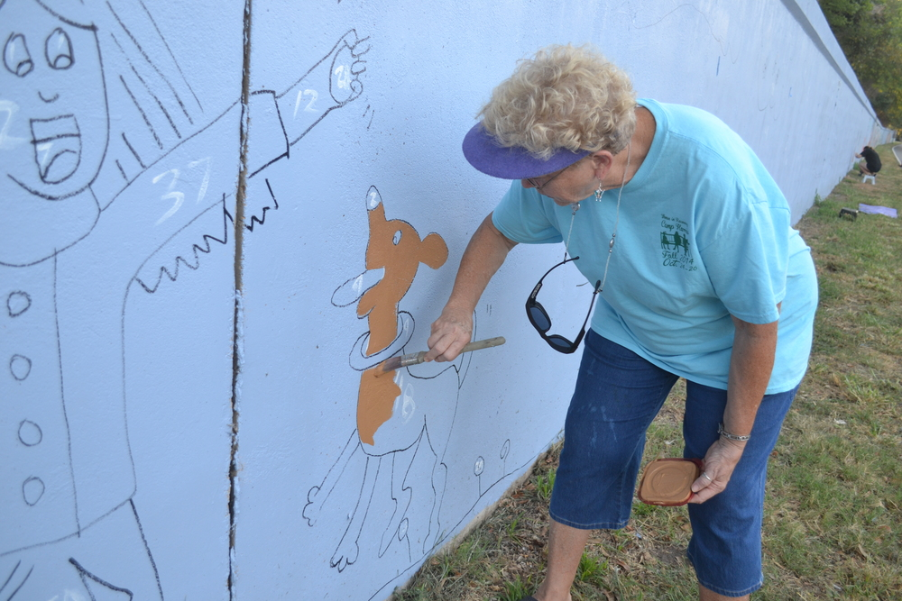 Mrs. Donna is a retired school teacher and was a joy to work with. She has taught at several schools that participated in this project including Kiroli and Highland.
