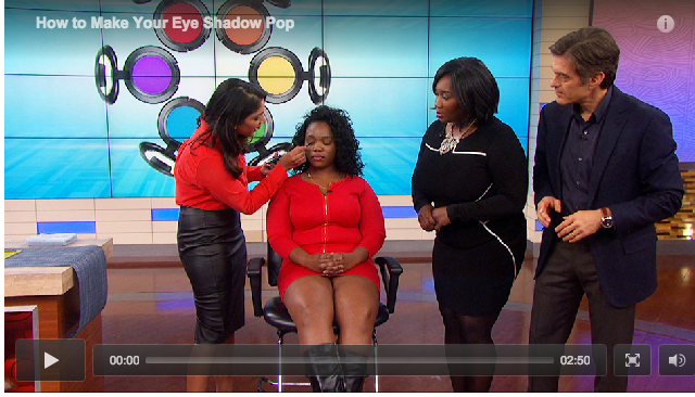 Click the image to get redirected to Dr. Oz's site and watch my segment!
