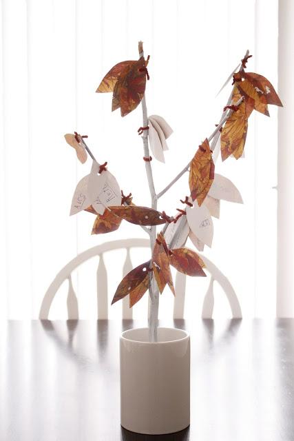 Thankful Tree via Delia Creates