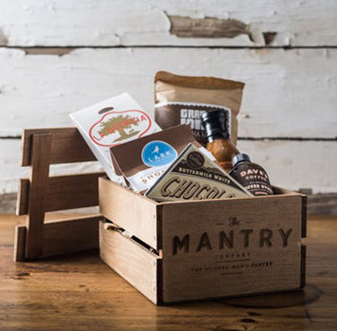 Subscription Box - Mantry Subscription Box is a fun one for the foodie Father. Hello snacks!