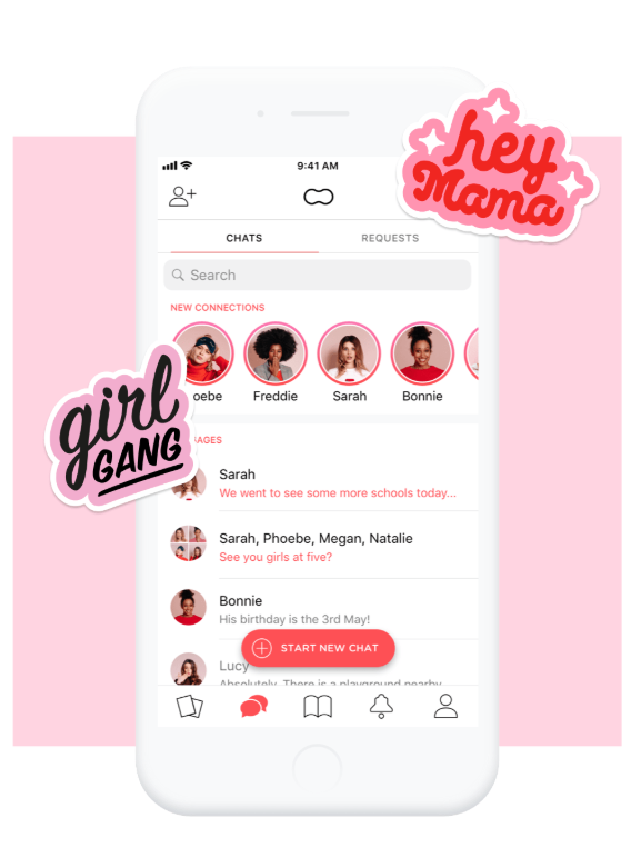 1. Peanut App - Pure genius! Created to help you connect with local mamas, schedule meetups, share information & expand your network.