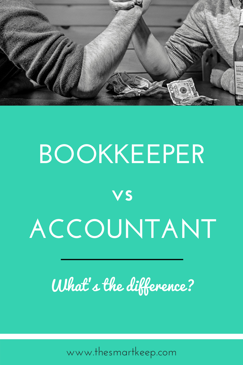 What does a bookkeeper do? What does an accountant do? Find out the difference and why you need both!