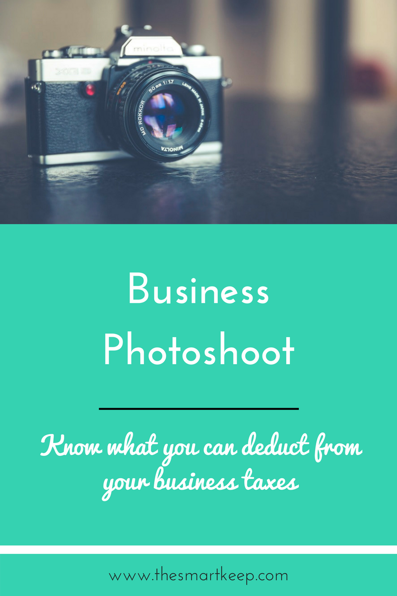 Business coaches and creative entrepreneurs need to have business photoshoots for those beautiful headshots. Read this blog post to learn about what you can deduct from your small business taxes.