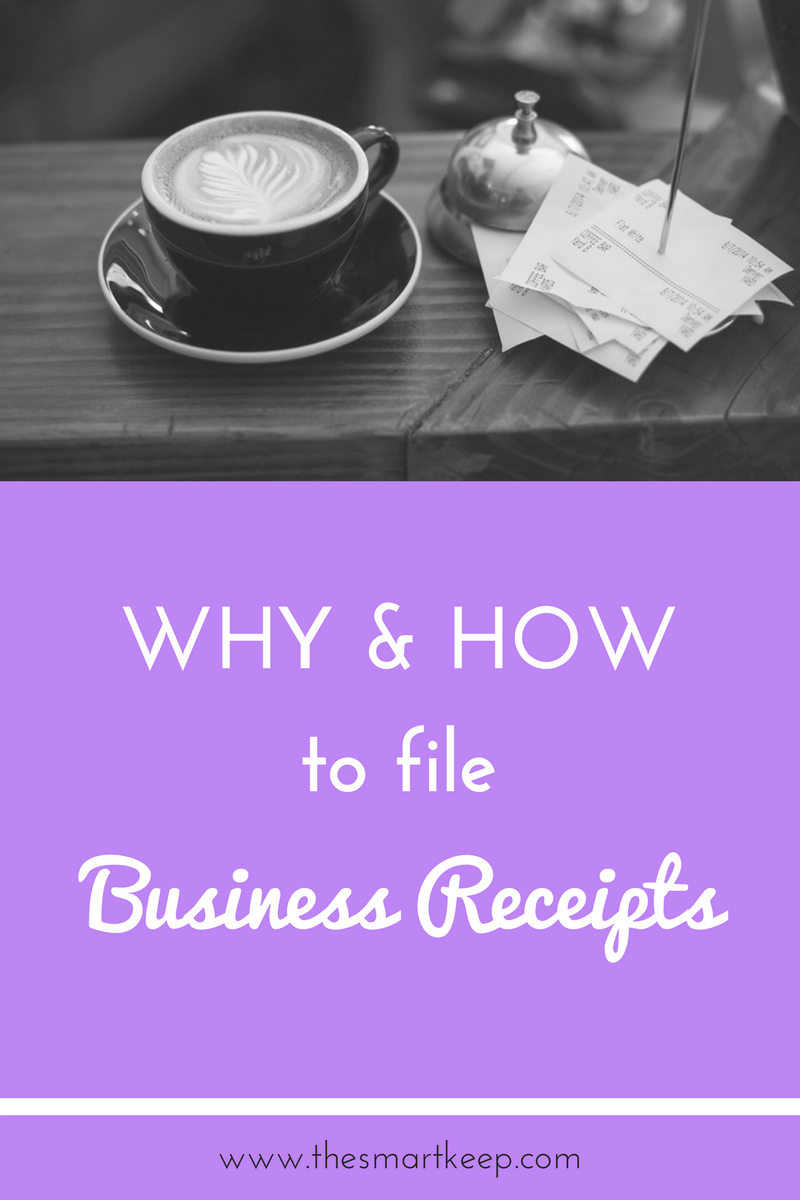 business receipts why and how you need to file them for your