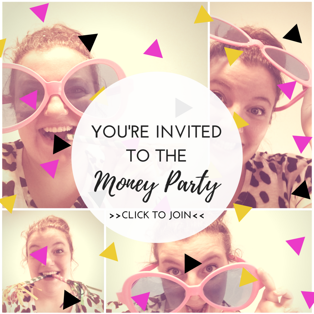 join the money party facebook group for female entrepreneurs with online business get help with bookkeeping and money management