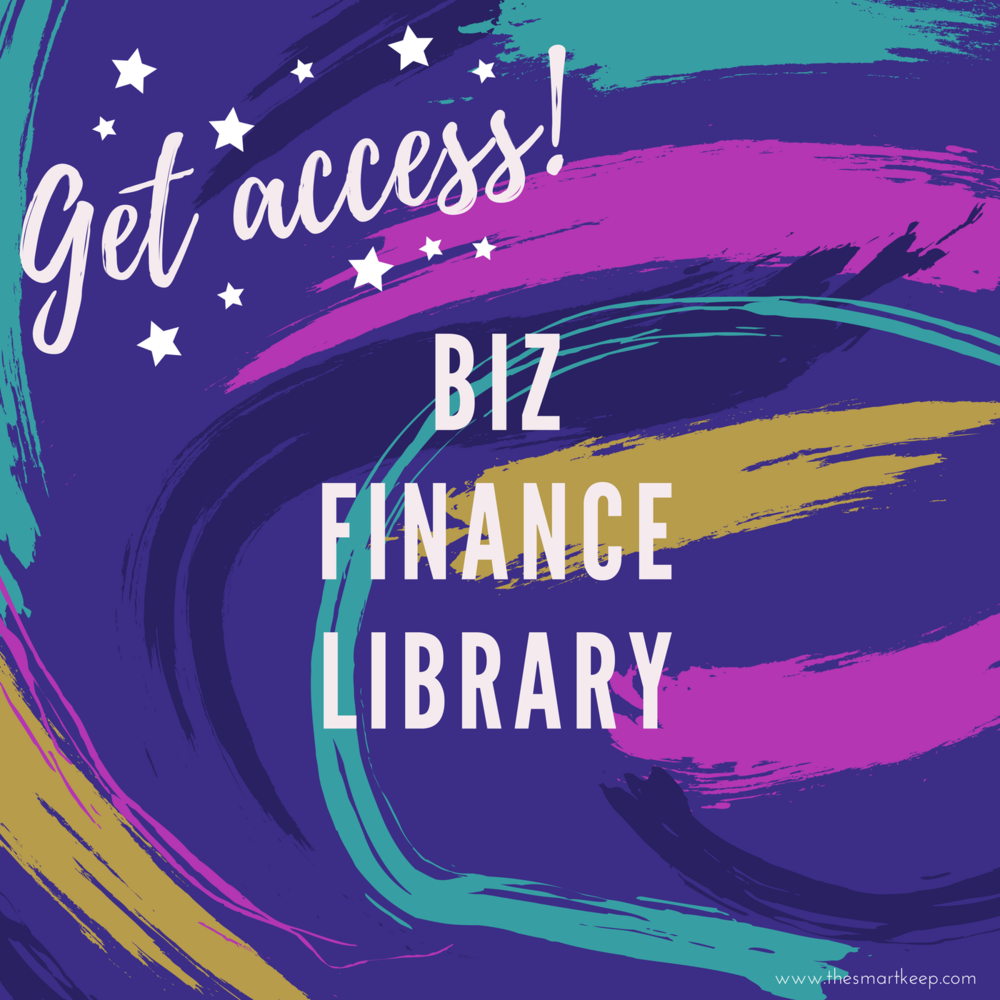 get access to the business finance library full of resources like receipt checklist, money affirmations, bookkeeping checklist
