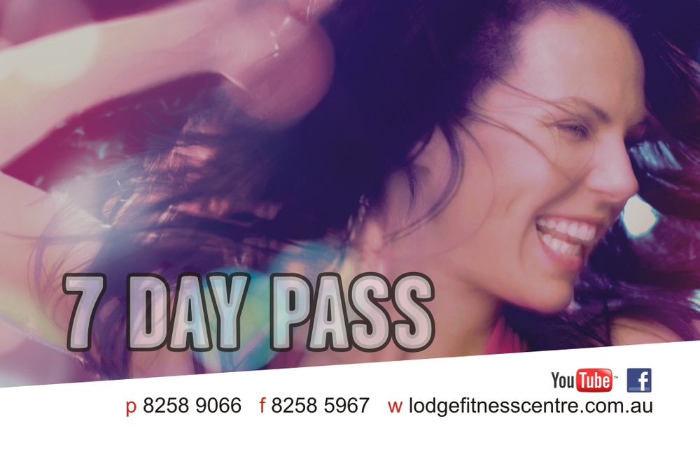 Get a FREE 7 Day Pass!