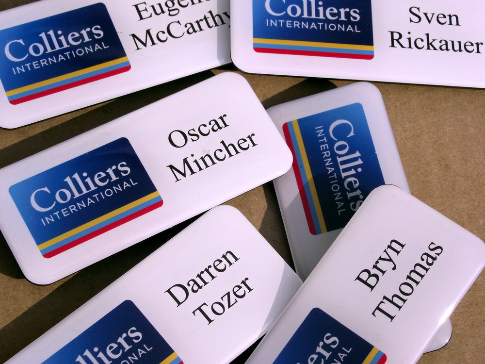 Domed Name Badges