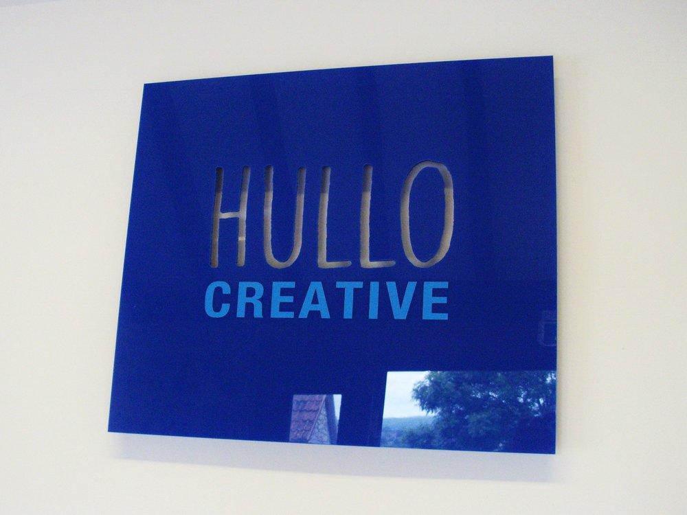 Internal Studio Sign