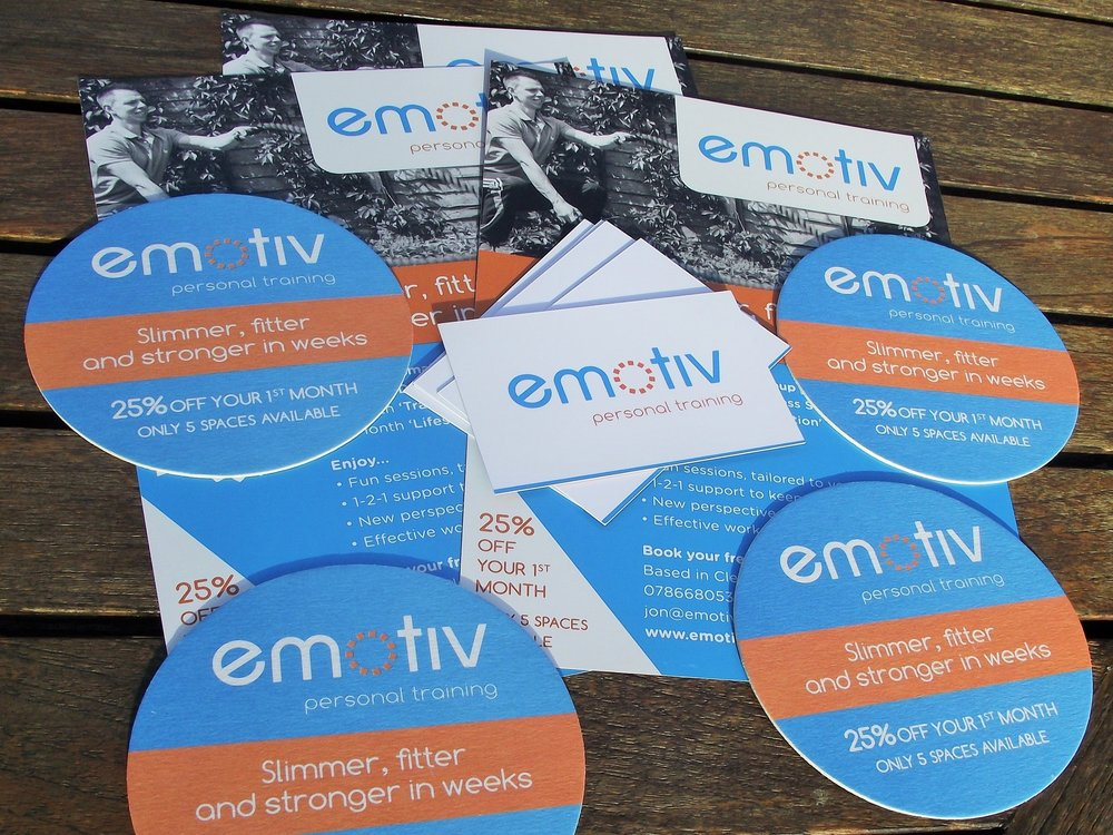 Business Cards, Beer/Drink Mats and Flyers