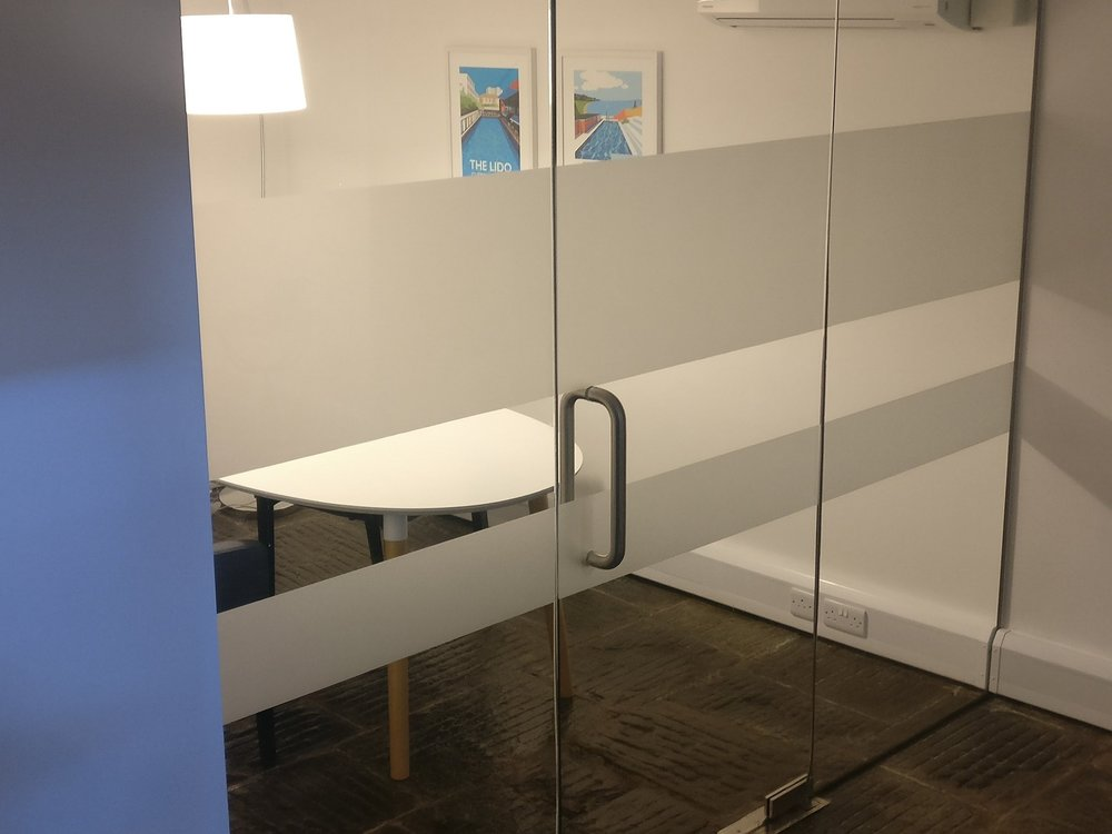 Glass Office Wall Manifestation