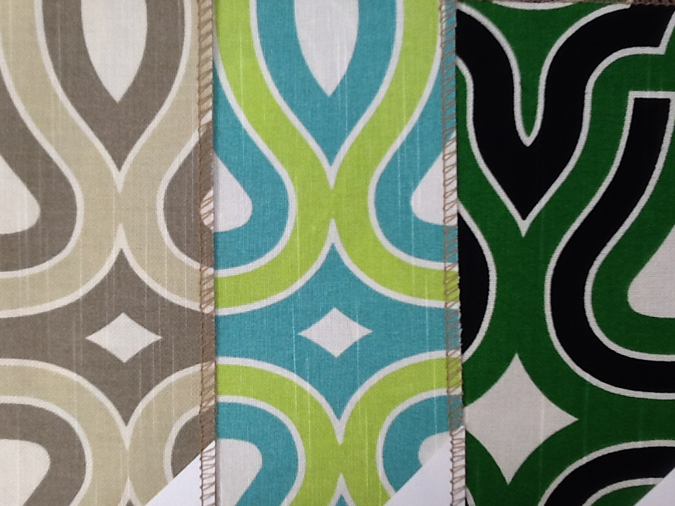 CHoose your fabrics