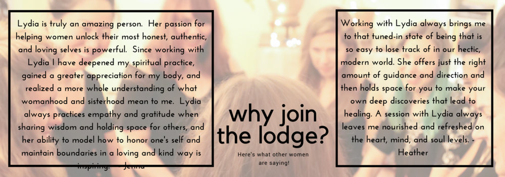 Why the lodge?