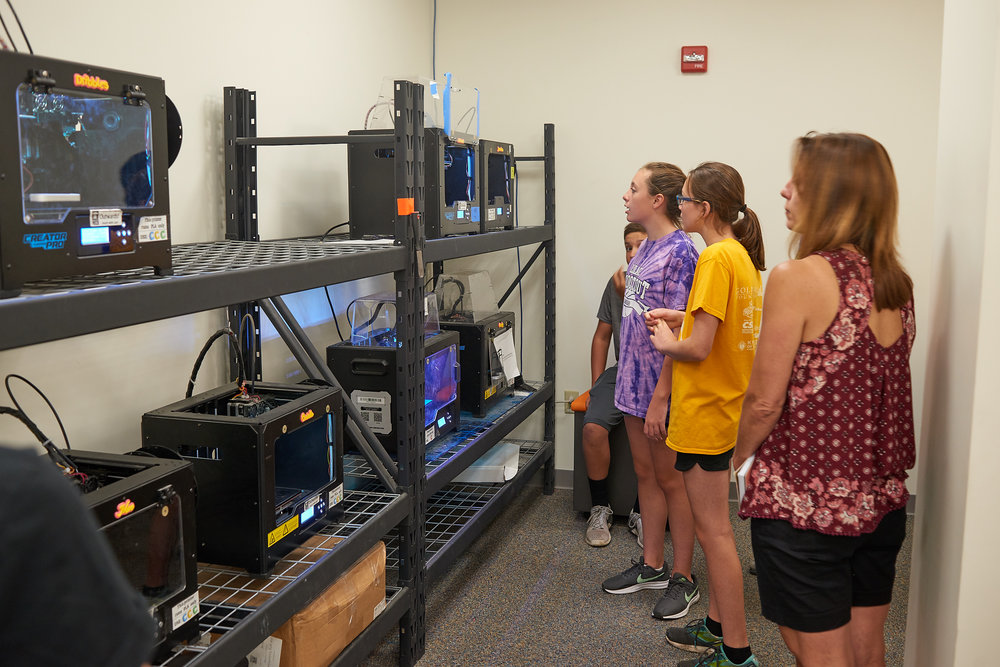 3D Print Lab - at RIT's Maker Space - The Construct