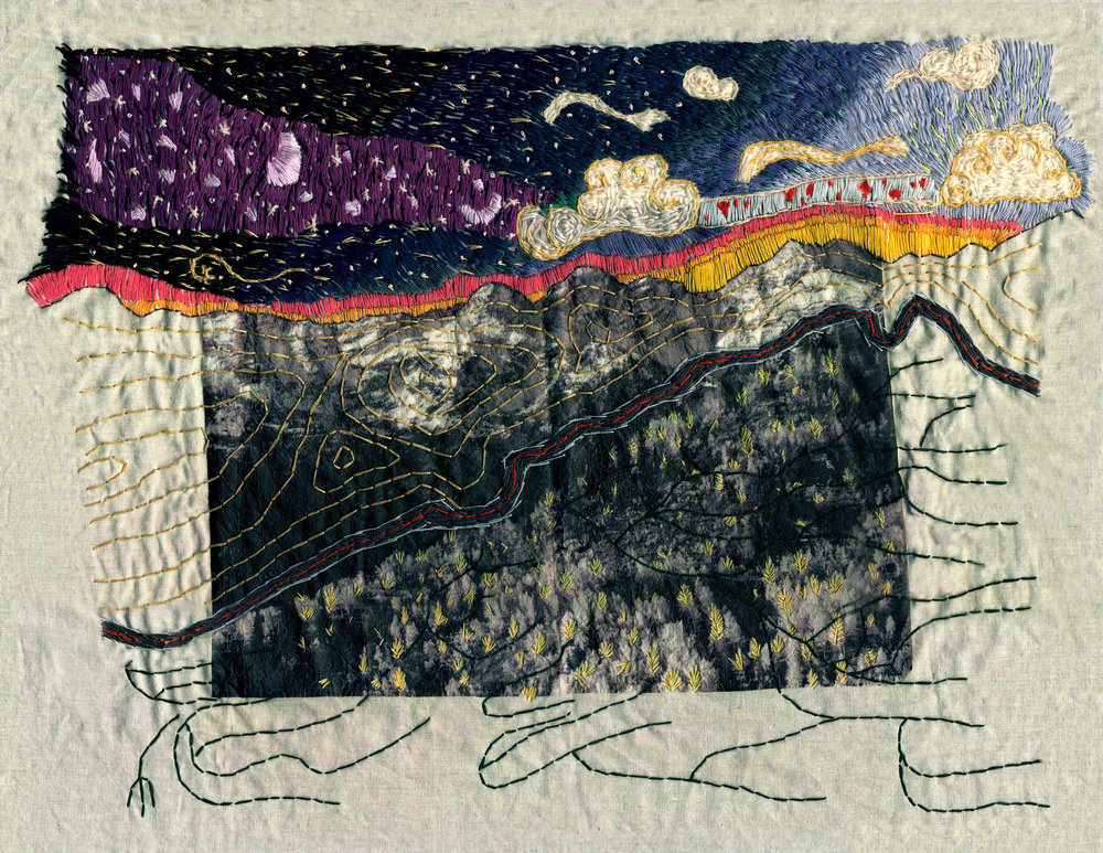 boo forever big cottonwood canyon embroidery by brinley froelich