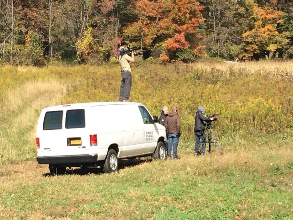 The Restoration Wild crew filming our episode
