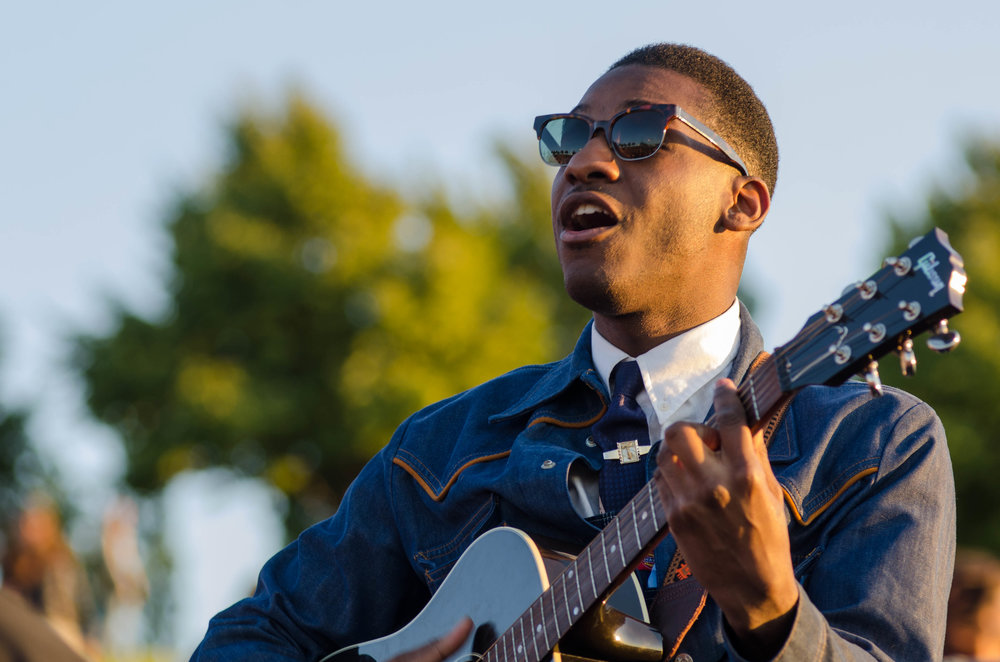 Leon Bridges (Sasquatch Music Festival 2016)