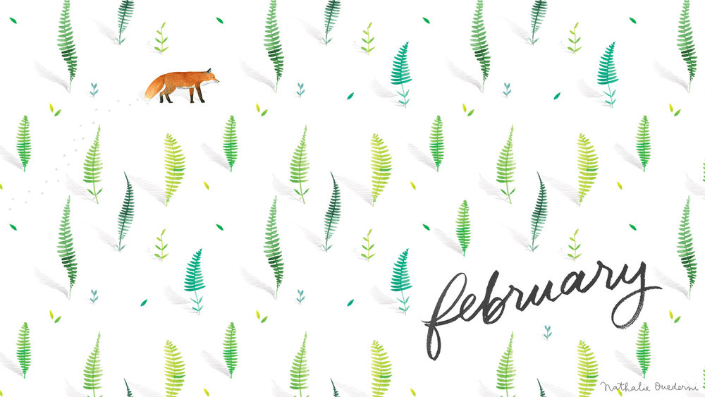 February Free Desktop Wallpaper