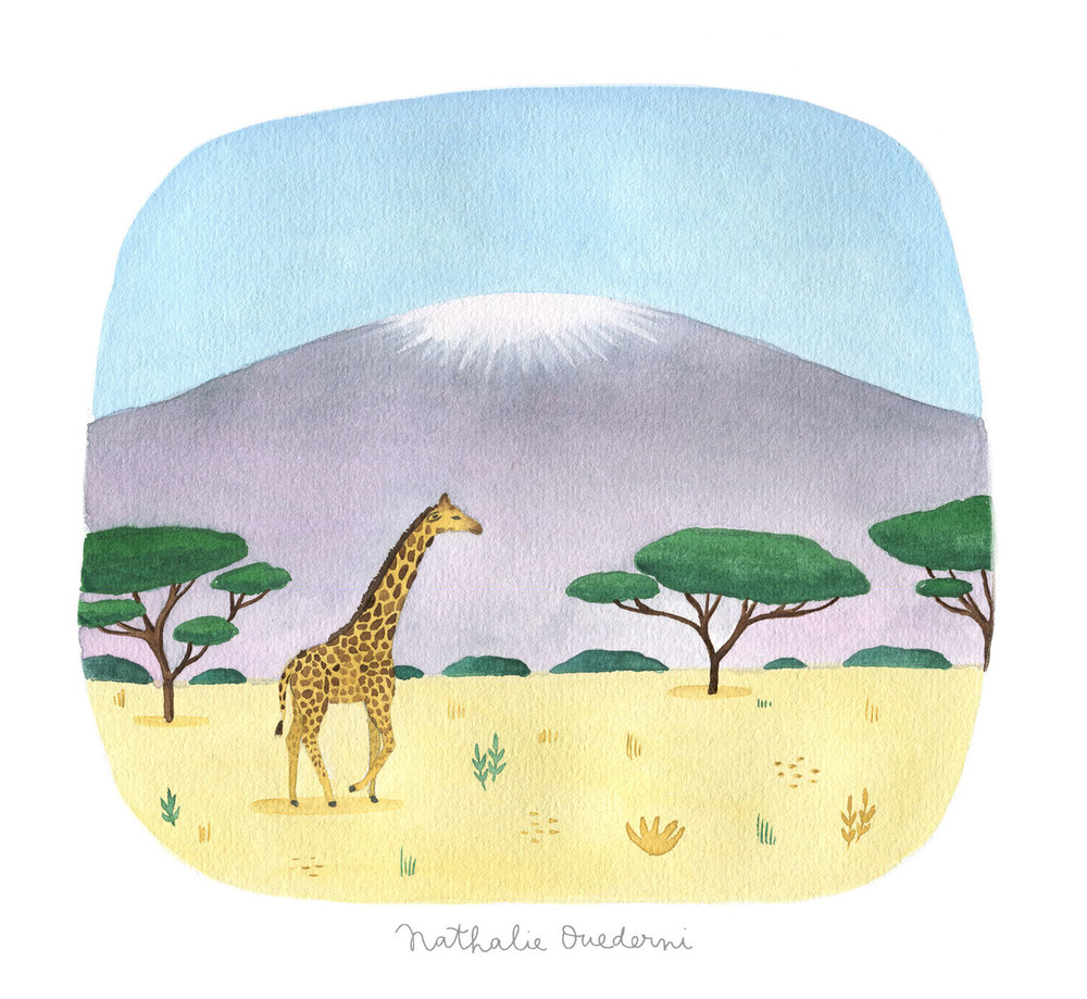 Tanzania illustration