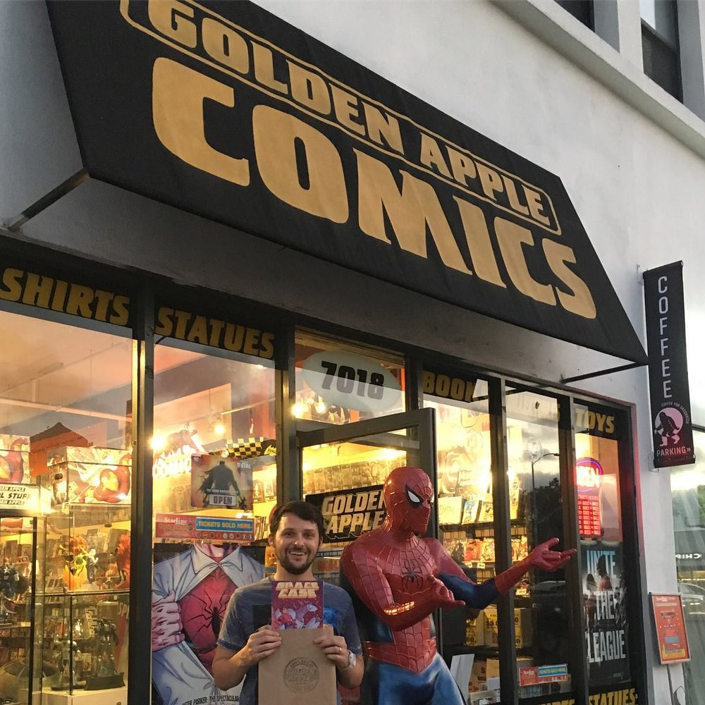 Local indie comic creator makes good!