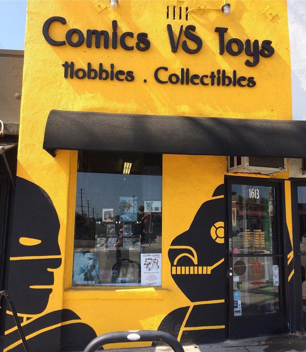 Comics vs Toys in Eagle Rock