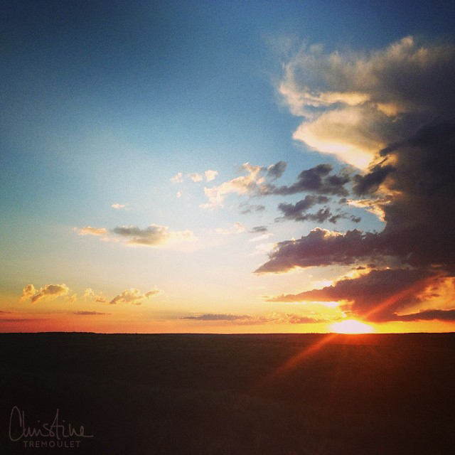 christine-tremoulet-sunset-in-yellowstone