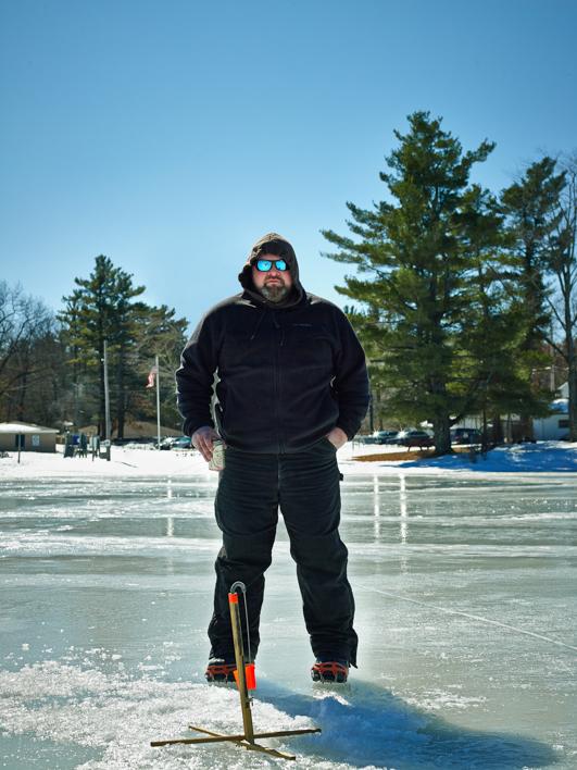 Ayer, MA Ice Fishing