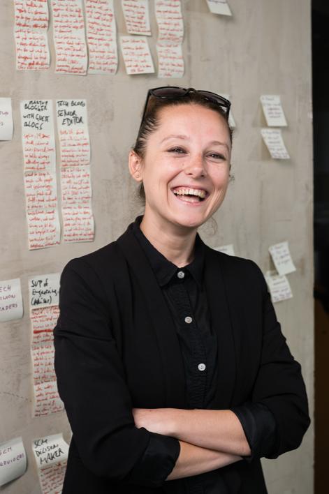 Checkio CEO Liza Avramenko for Boston Business Journal