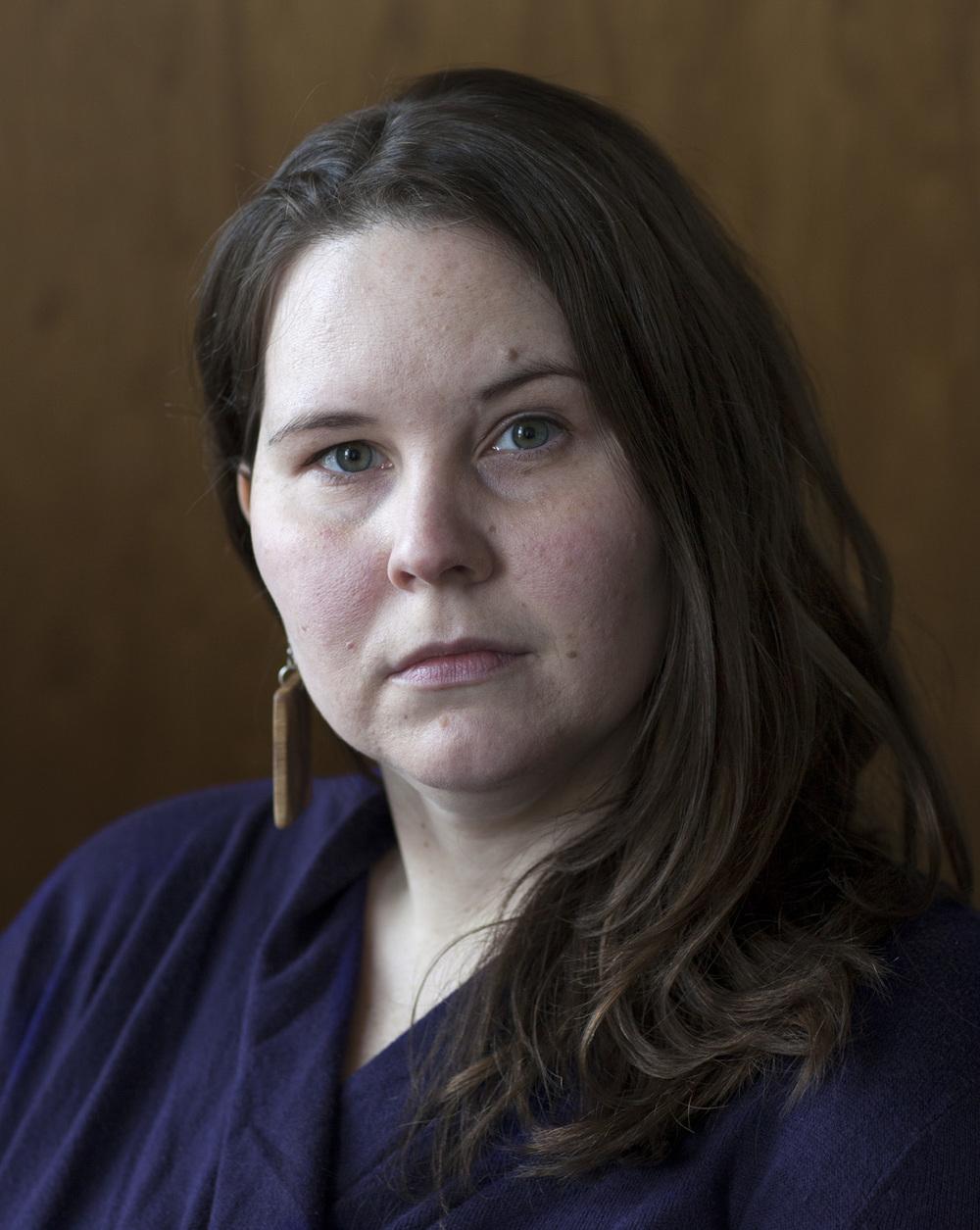 Kate Koval, activist, 2016.
