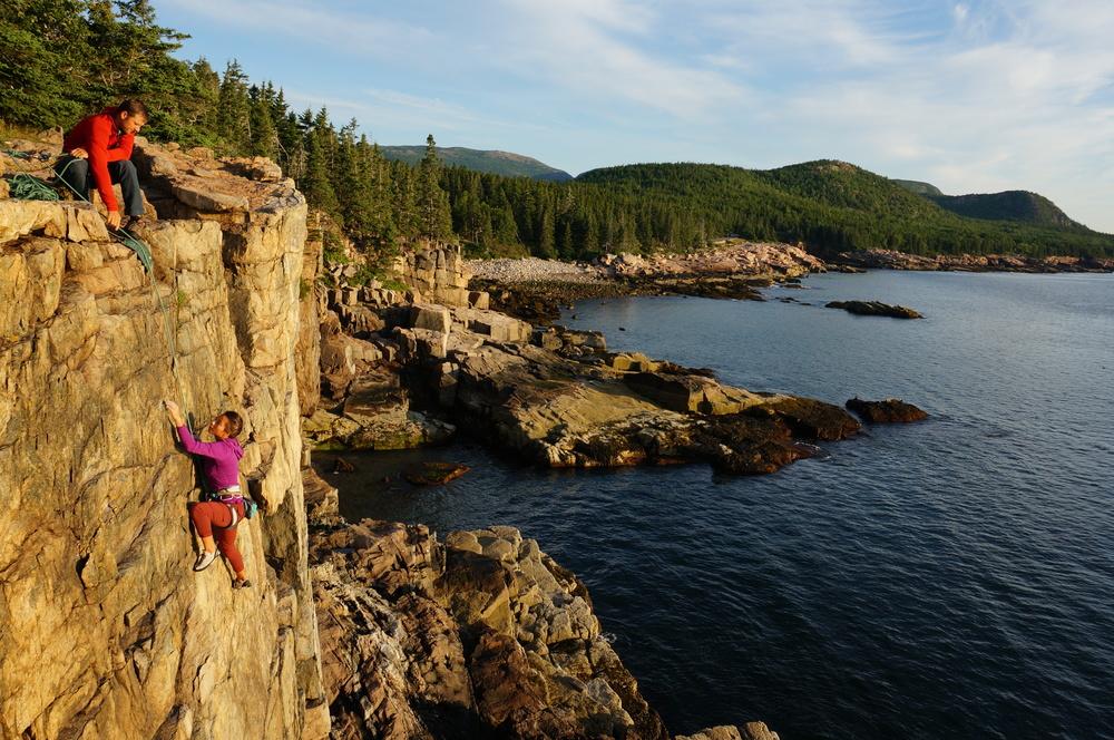 Classic Otter Cliffs.