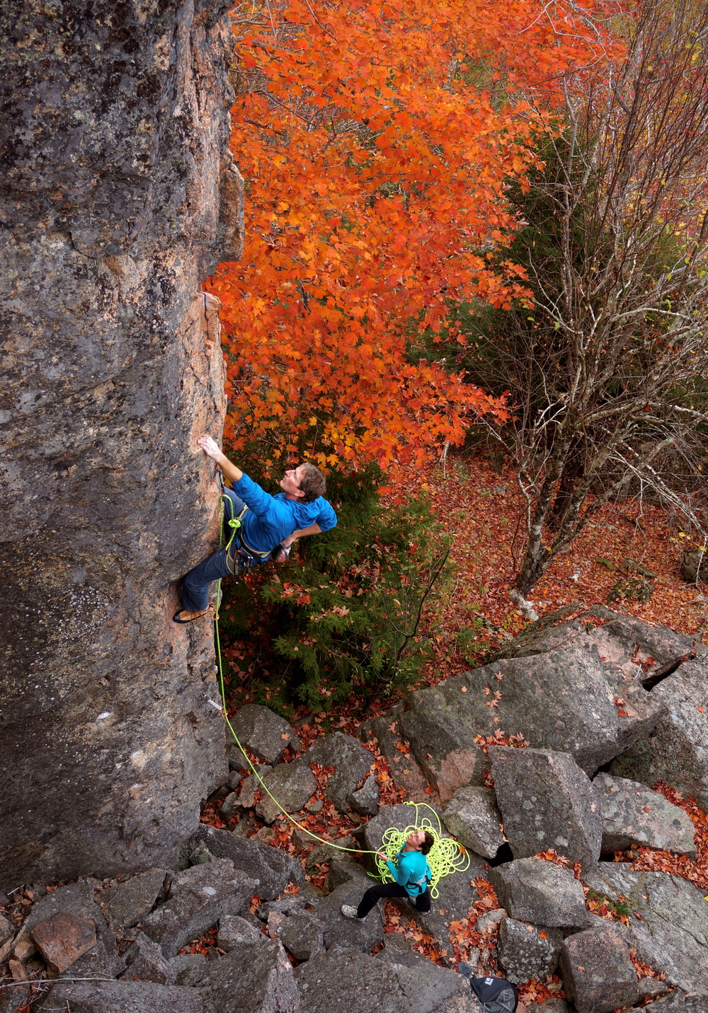 Jeff Butterfield on Stratocaster (5.10c).