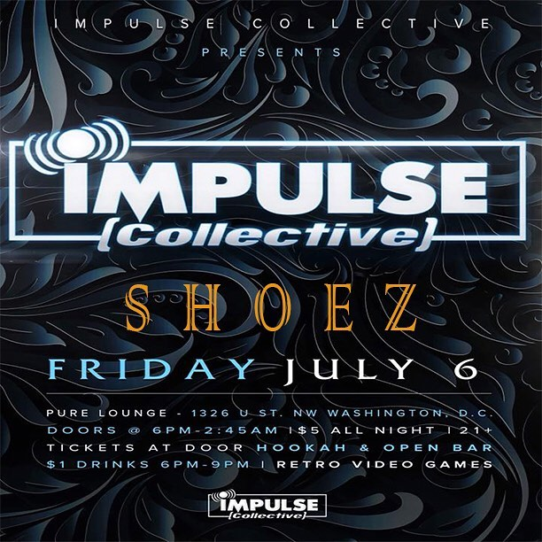 What's up shoe gang! If your in the D.C area come check out my Impulse Collective set starting at 6pm! - - - - #edm #edmlife #edmlifestyle #edmfestival #dj #djlife #djlifestyle #rave #raver #ravers #music #musicproducer #impluse #festival #washingtondc #love #house #housemusic #bassmusic #basshouse #livemusic