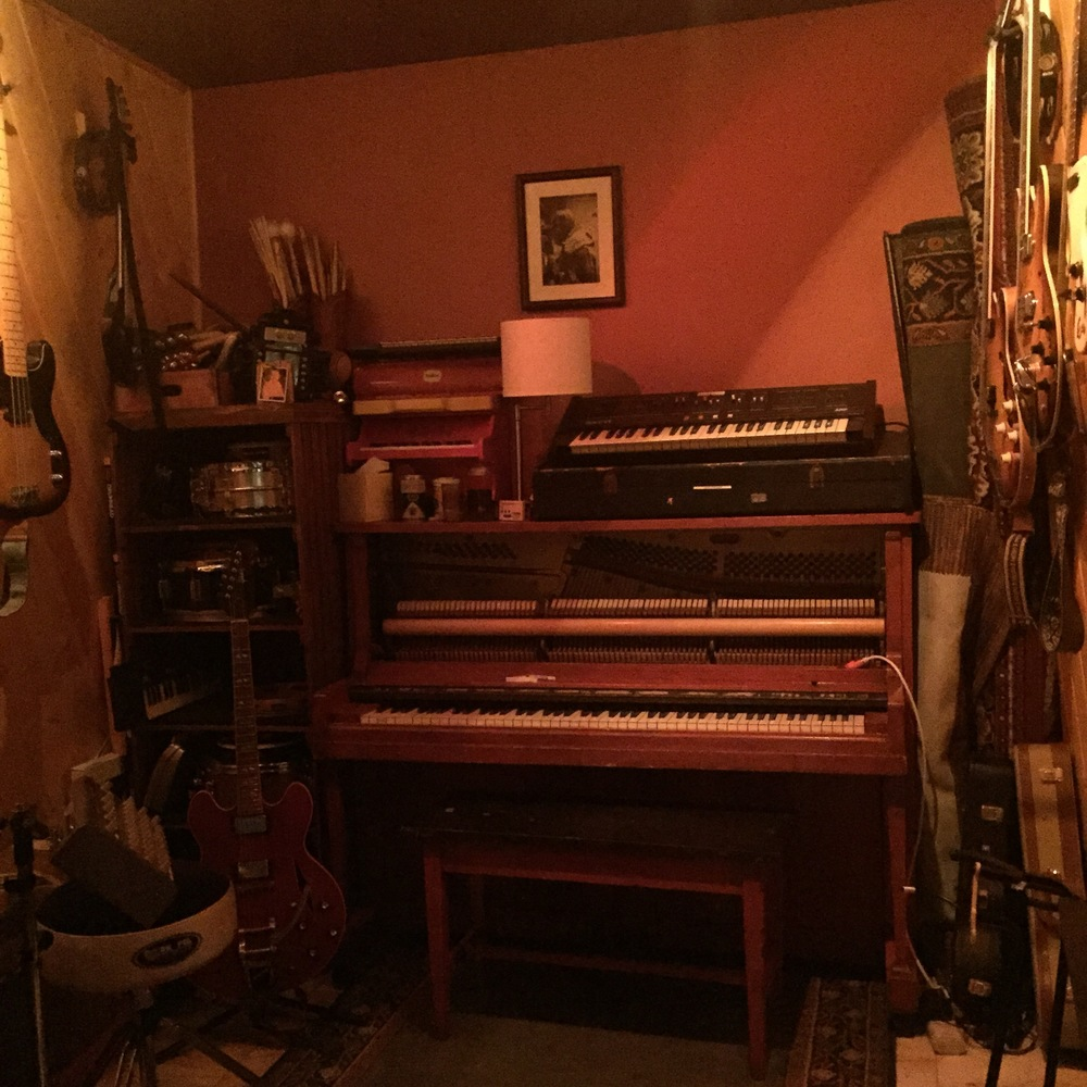 Isolated Piano/Guitar Room