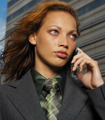 Business Woman on Cell.jpg