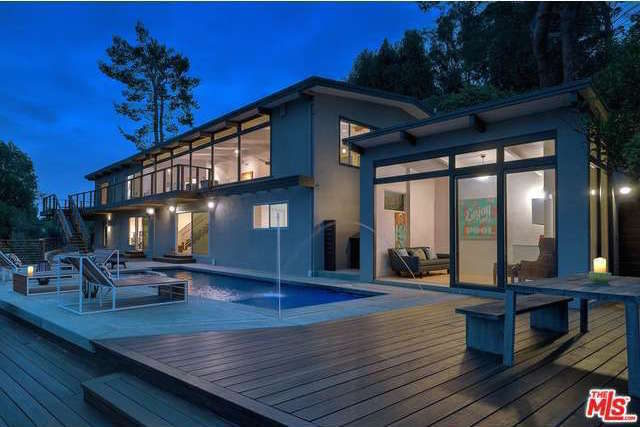 ReInhabit-Revamped 1950s Post & Beam in the Hollywood Hills Asking $3 Million