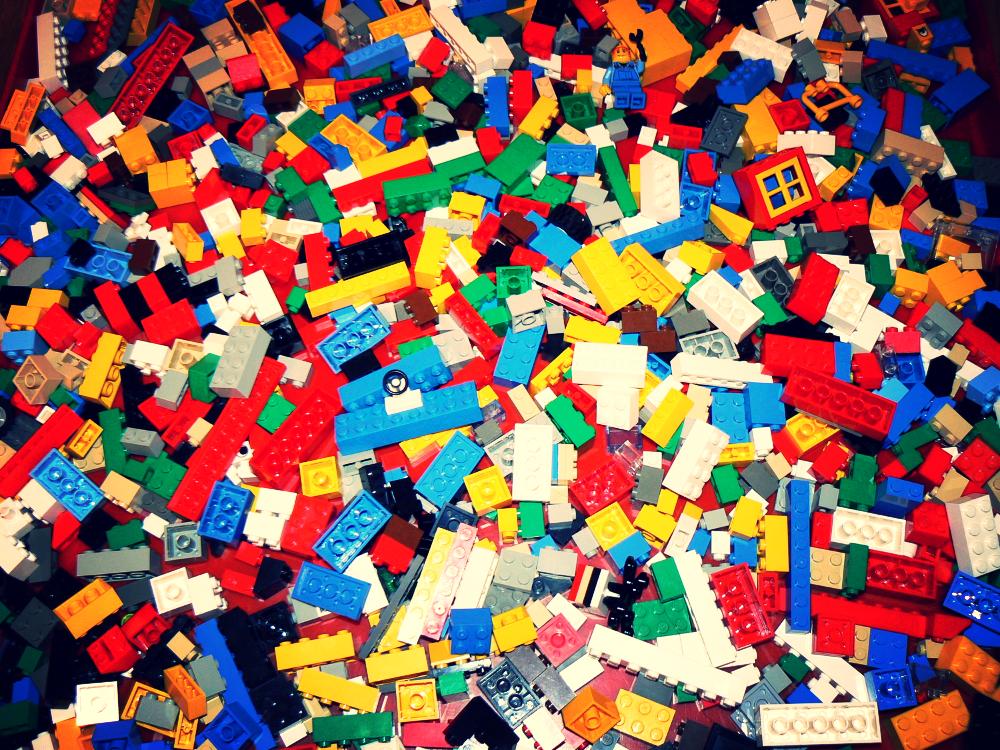 Lego walk