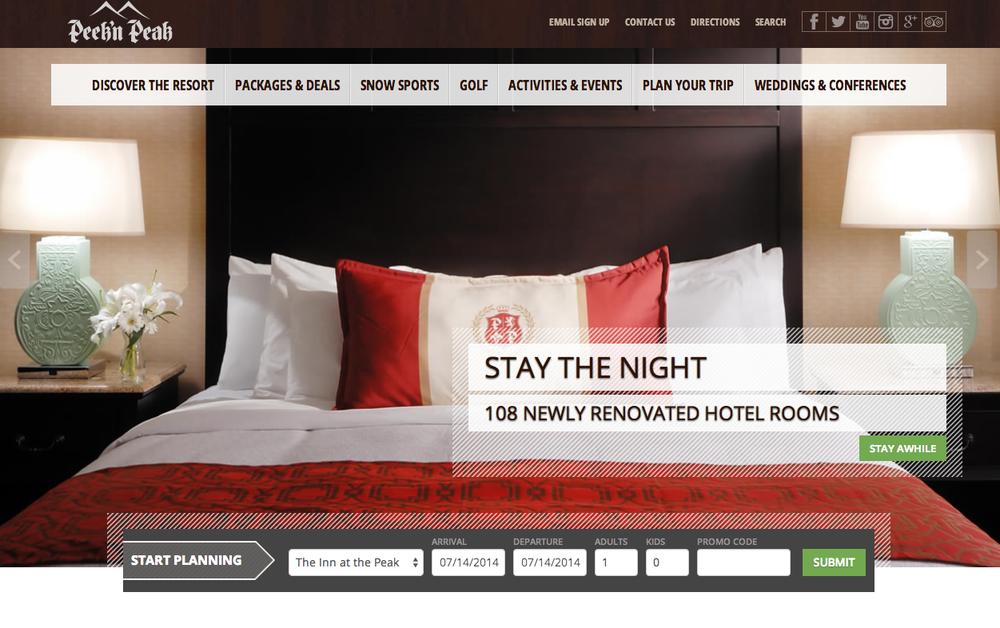 hotel inn hospitality responsive web designers