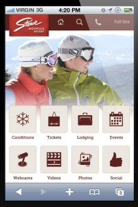 Stowe Mobile Website
