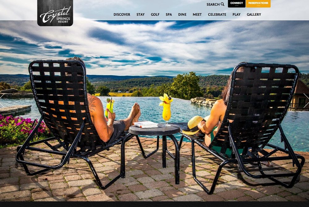 Crystal Springs Golf Spa & Ski Resort  Award Winning Responsive Web Design & SEO >  visit website  >  case study