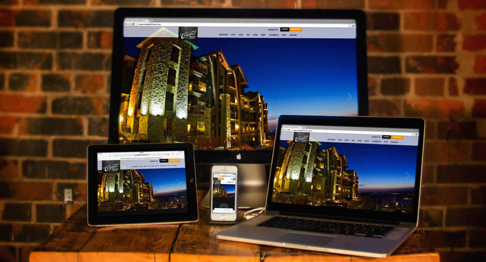 hotel inn resort responsive web design firm