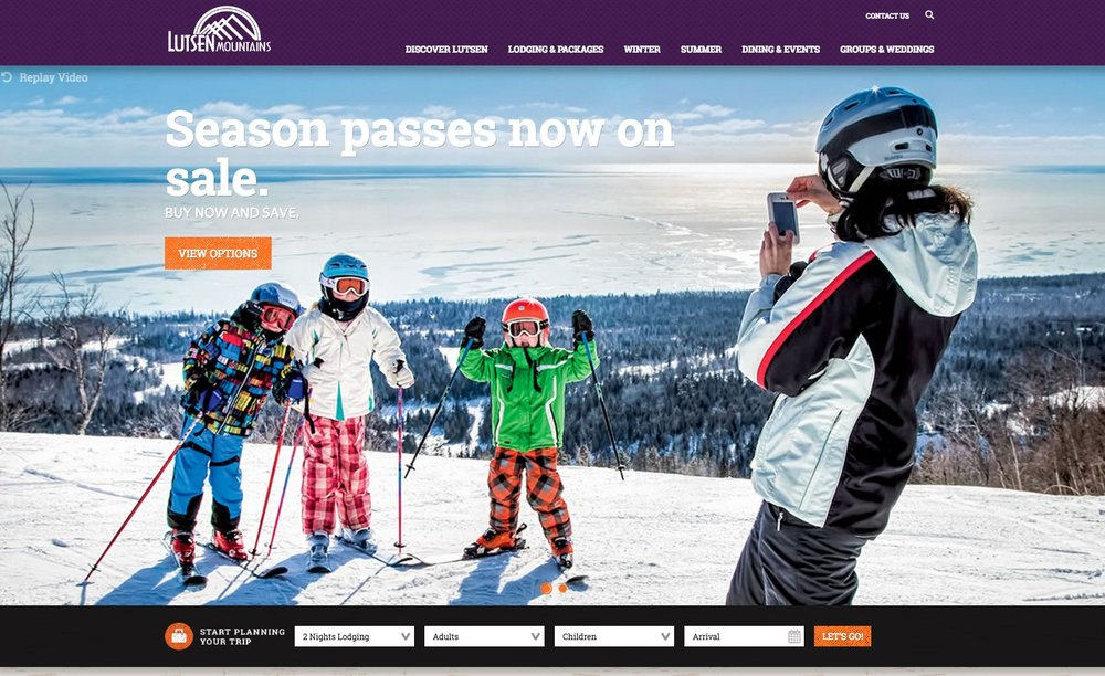 Lutsen Mountains Homepage - After