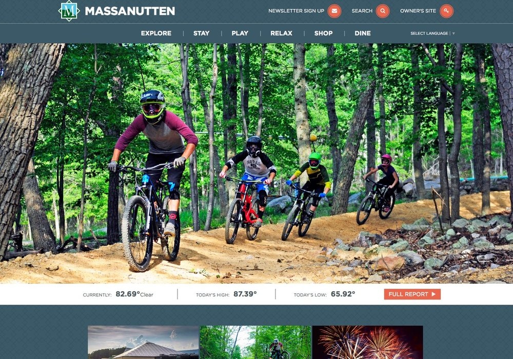 Massanutten Resort Homepage - After