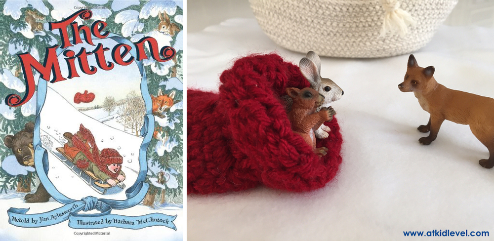 Jim Aylesworth's The Mitten is a lesser-known version of this classic winter story, but it will become an instant favorite in your house or classroom! A little boy drops his mitten in the snow, and some chilly animals try to squeeze inside to stay warm. Spoiler alert: they don't all fit!