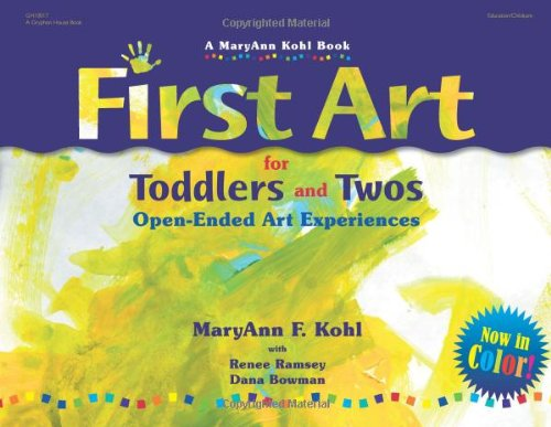 This book is very useful. It offers lots and lots of ideas for process-based, sensorial, and open-ended art activities for the youngest children! You can buy it  here.