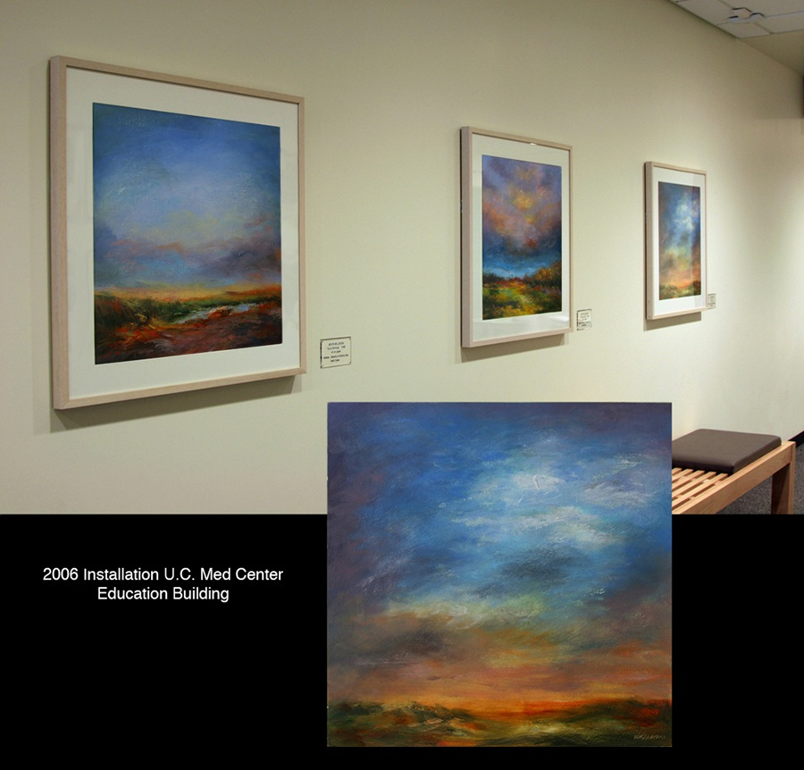 2006 Painting Installation (20+ paintings), UC Davls Medical Center, Sacramento, CA
