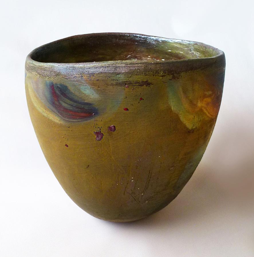 Raku Bowl #4