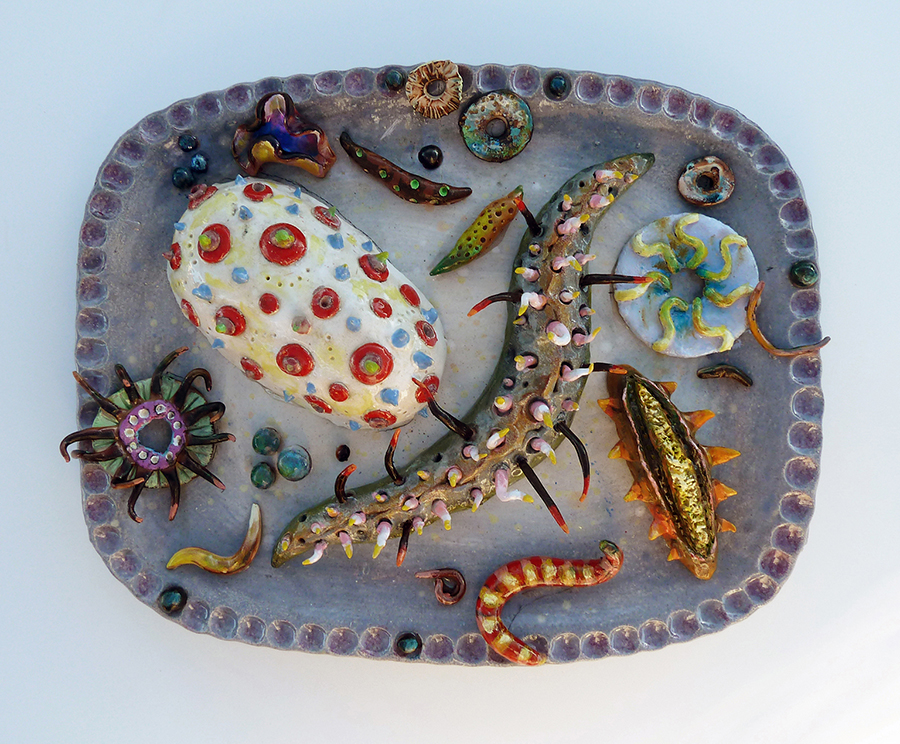"Seafood Platter,  13"" x 17"" x 4"" H"